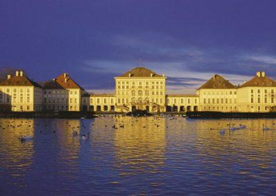 Ansicht Schloss Nymphenburg