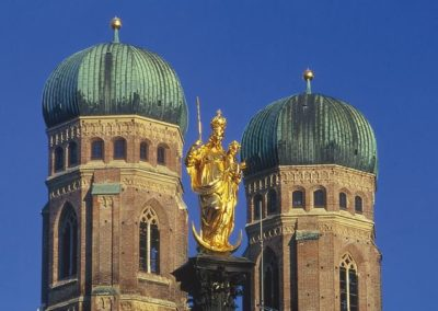 Kirchtürme des Liebfrauendoms - Wahrzeichen von München