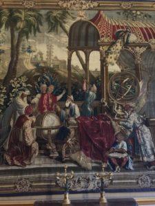 Die China-Wandteppich-Folge der Manufaktur Beauvais