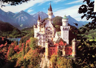 Gesamtansicht Schloss Neuschwanstein
