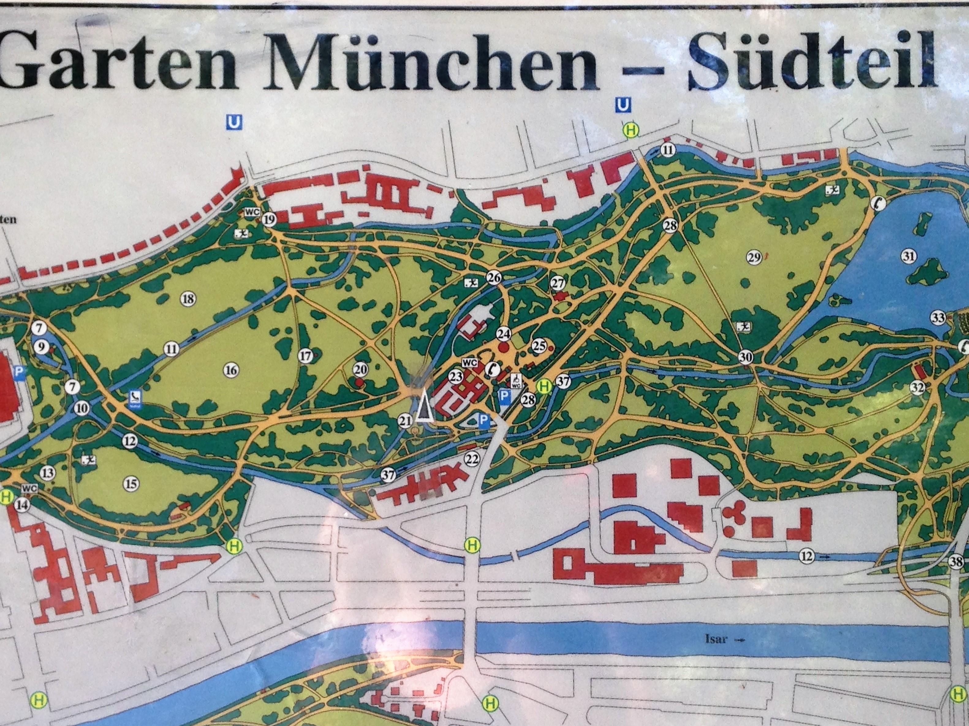 Englischer Garten Jardin Anglais Schone Stadtfuhrung In Munchen