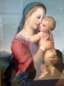 Madonna Tempi (1508) von Raffael