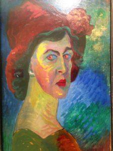 Marianne von Werefkin (Selbstbildnis)