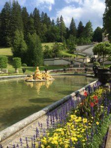 Schloßpark von Schloß Linderhof