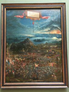 Die Alexanderschlacht von Albrecht Altdorfer