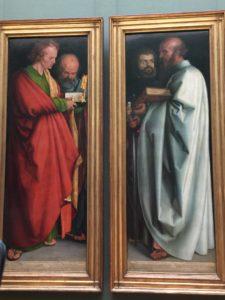 Die Evangelisten von Albrecht Duerer
