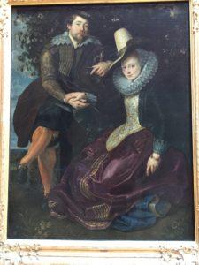 Peter Paul Rubens mit seiner Frau Isabella Brant in der Geissblattlaube