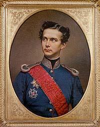 Portrait des jungen Ludwig (W. Tauber)