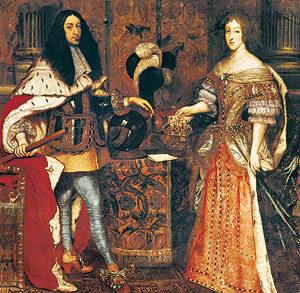 Kurfürst Ferdinand Maria und Kurfürstin Henriette Adelaide von Savoyen