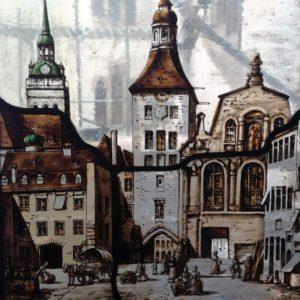 Altes Rathaus (Gemälde um 1900)