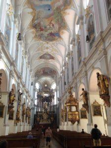 Kirchenschiff Petersksirche
