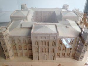 Modell des Wittelsbacher Palais (GeStaPo)
