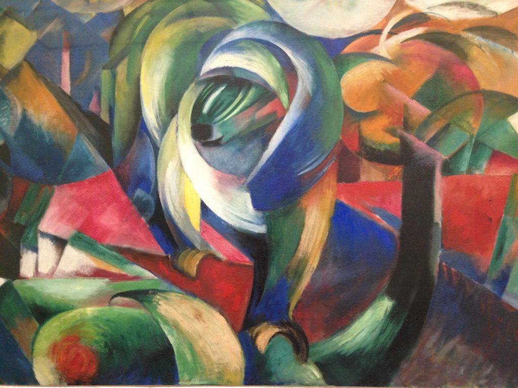 Gemälde von Franz Marc im Haus der Kunst München