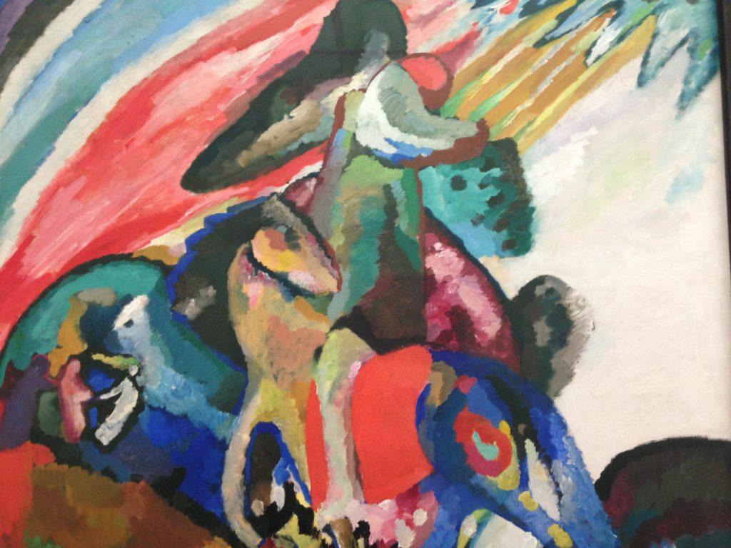 Gemälde von Wassily Kandinsky im Haus der Kunst München