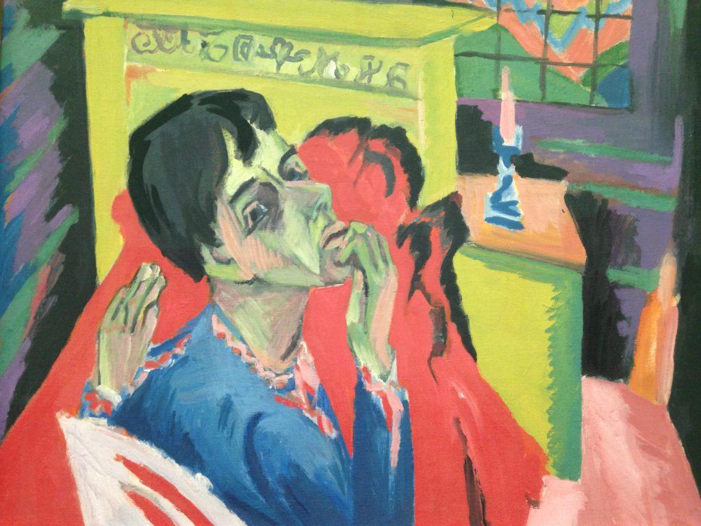 Gemälde von Ernst Ludwig Kirchner im Haus der Kunst München