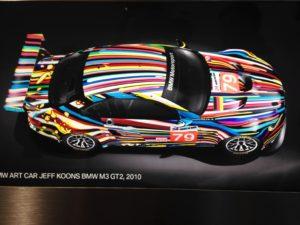 Art Car Jeff Koons BMW M3 GT2 2010
