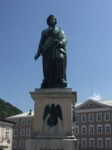 Denkmal für Wolfgang Amadeus Mozart