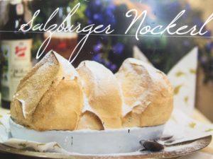 Eine Spezialität von Salzburg - Salzburger Nockerl