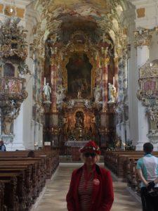 """Kirchenbesichtigung in der """"Wies"""""""