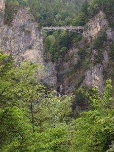 Marienbrücke über der Pöllath-Schlucht