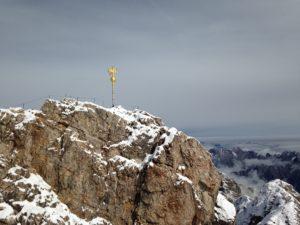 Gipfelkreuz der Zugspitze (2997m)
