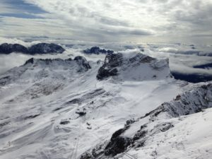 Zugspitzplatt und Gletscher