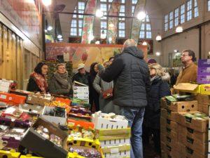 """Der """"Biergartenverein"""" zu Besuch in der Großmarkthalle"""