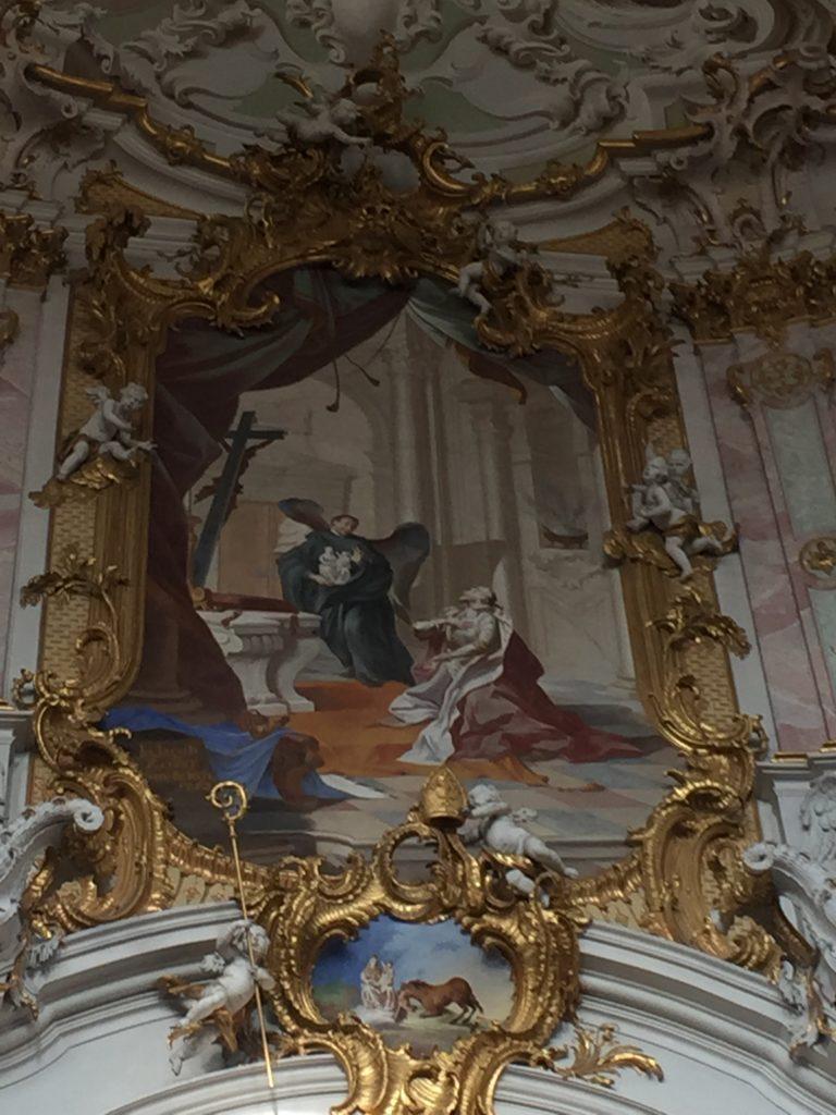 Ettaler Klosterkirche (Innenansicht)