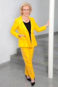 Barbara Schöne, ehemalige Stadträtin und mehrsprachige Stadtführerin